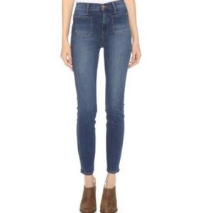 Madewell High Waisted Sailor Jeans 24